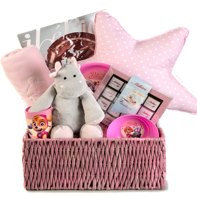 felicidades mam canastilla rosa pasteler a mallorca. Black Bedroom Furniture Sets. Home Design Ideas