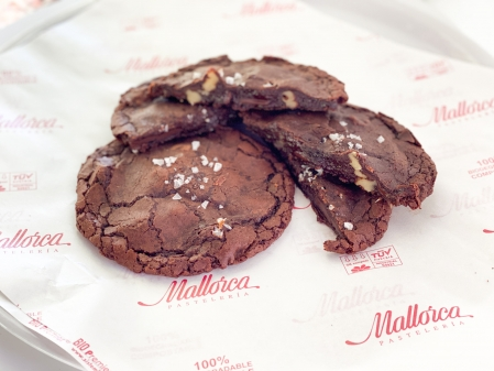 Cookie fundente de chocolate